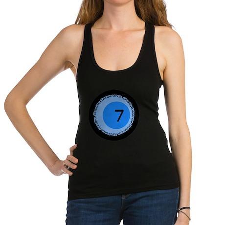 Seven 7 Virtues Number Design Racerback Tank Top