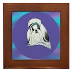 Shih-Tzu Beauty Framed Tile
