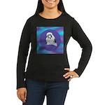 Shih-Tzu Beauty Women's Long Sleeve Dark T-Shirt