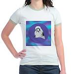 Shih-Tzu Beauty Jr. Ringer T-Shirt