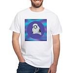 Shih-Tzu Beauty White T-Shirt
