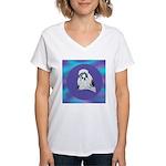 Shih-Tzu Beauty Women's V-Neck T-Shirt