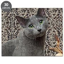 Russian Blue Cat Puzzle