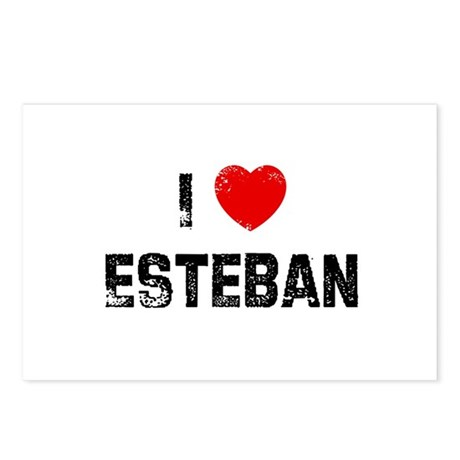 I * Esteban Postcards (Package of 8)