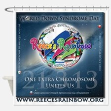 wdsd hires Shower Curtain