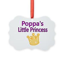 Poppas Little Princess Ornament