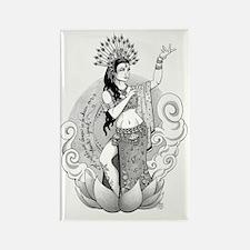 Goddess of the Dance Rectangle Magnet