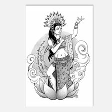 Goddess of the Dance Postcards (Package of 8)