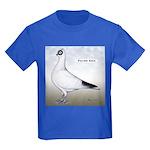 Polish Shortface Pigeon Kids Dark T-Shirt