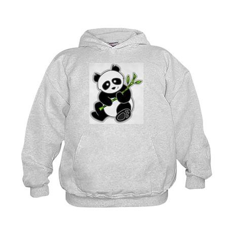 Sitting Panda Bear Kids Hoodie
