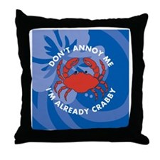 Dont Annoy Me Sticky Notepad Throw Pillow