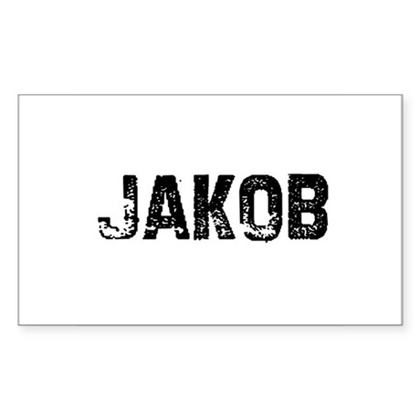 Jakob Rectangle Sticker