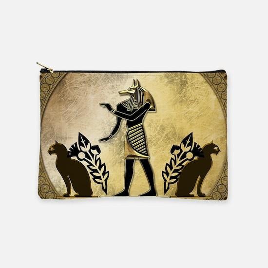 Anubis the egyptian god, gold and black Makeup Pou