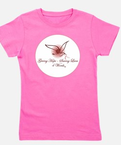 Giving Hope - Saving Lives Girl's Tee