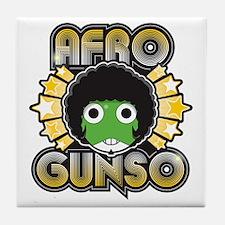 Afro Gunso Tile Coaster