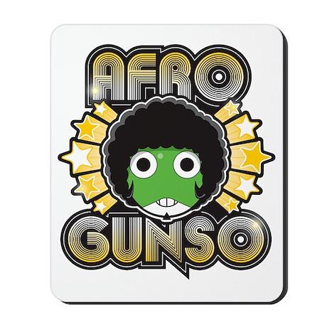 Afro Gunso Mousepad