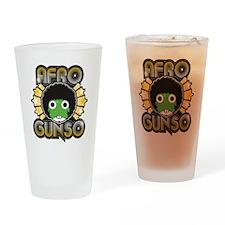 Afro Gunso Drinking Glass