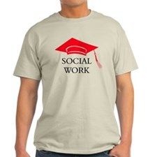 Red SW Grad Cap T-Shirt