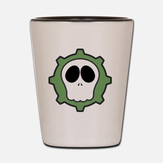 Dead Cog III Shot Glass