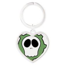 Dead Cog III Heart Keychain