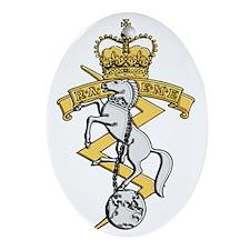 RAEME badge Oval Ornament