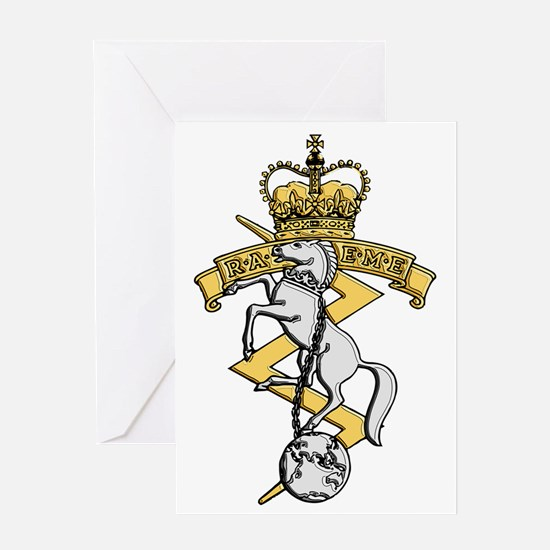 RAEME badge Greeting Card