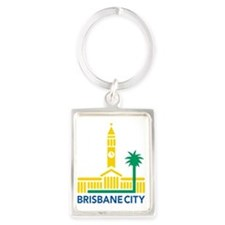 Brisbane City Council e1 Portrait Keychain