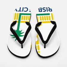 Brisbane City Council e1 Flip Flops