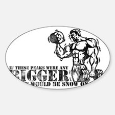 Big Biceps Peaks Decal