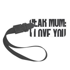Dear Mom I Love You Luggage Tag