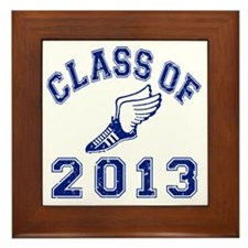 Class Of 2013 Track and Field Framed Tile