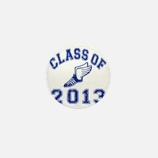 Class Of 2013 Track and Field Mini Button