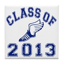 Class Of 2013 Track and Field Tile Coaster