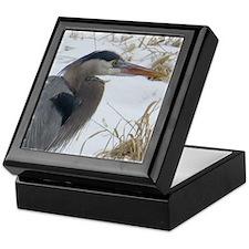 Great Blue Heron Keepsake Box
