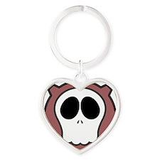 Dead Cog V Heart Keychain