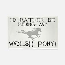 Rather-Welsh Pony! Rectangle Magnet