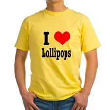 I Heart (Love) Lollipops T