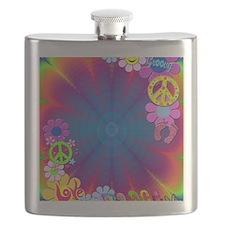 hippie frame Flask