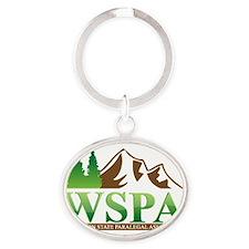 WSPA Logo 2013 Oval Keychain