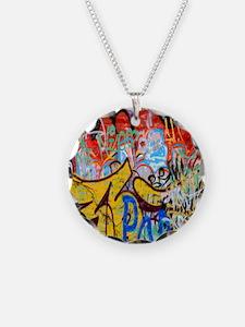 Colorful Graffiti Necklace