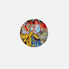 Colorful Graffiti Mini Button