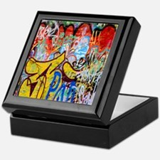 Colorful Graffiti Keepsake Box