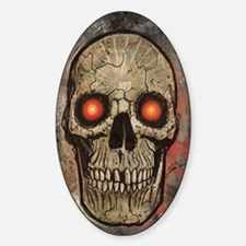 PSYCHEDELIC SKULL Decal