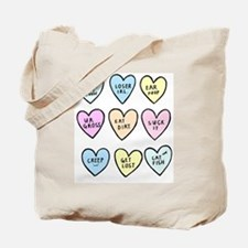 meanhearts Tote Bag