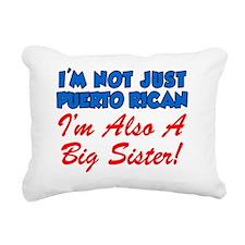 Puerto Rican Big Sister Rectangular Canvas Pillow