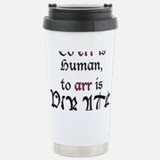 to Arr is Pirate Stainless Steel Travel Mug