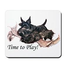 Scottish Terrier Play Time! Mousepad