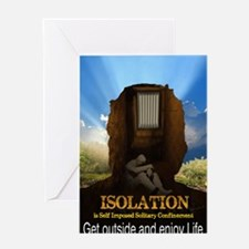 Isolation Greeting Card