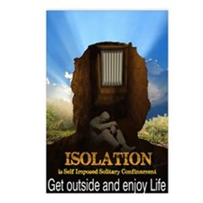 Isolation Postcards (Package of 8)