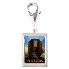 Isolation Silver Portrait Charm